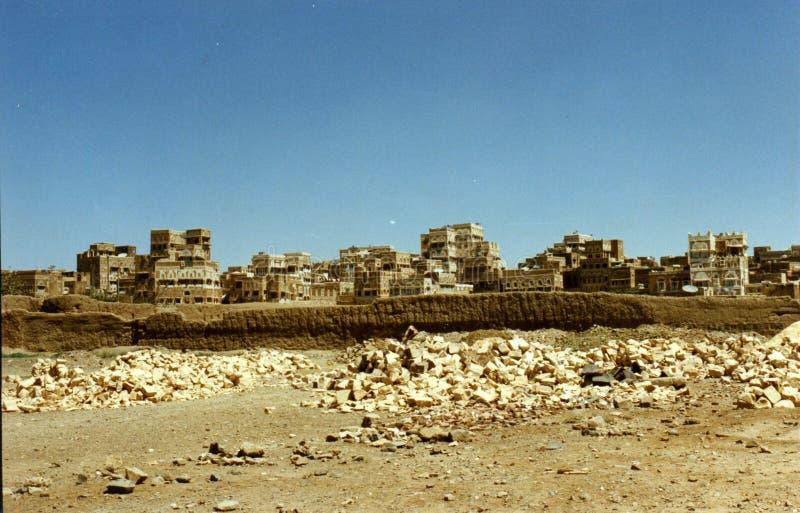 Oude Sanaa stock foto