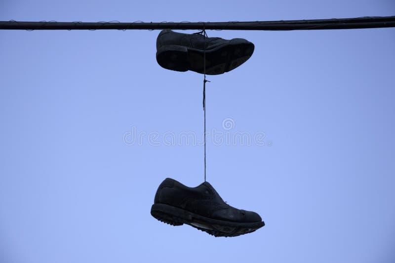 Oude schoen. stock foto's