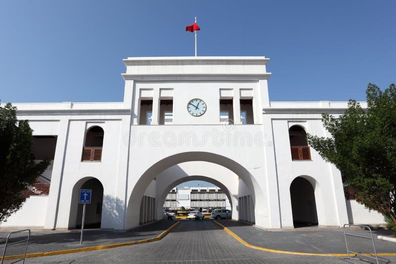 Oude soukpoort in Manama, Bahrein royalty-vrije stock afbeeldingen