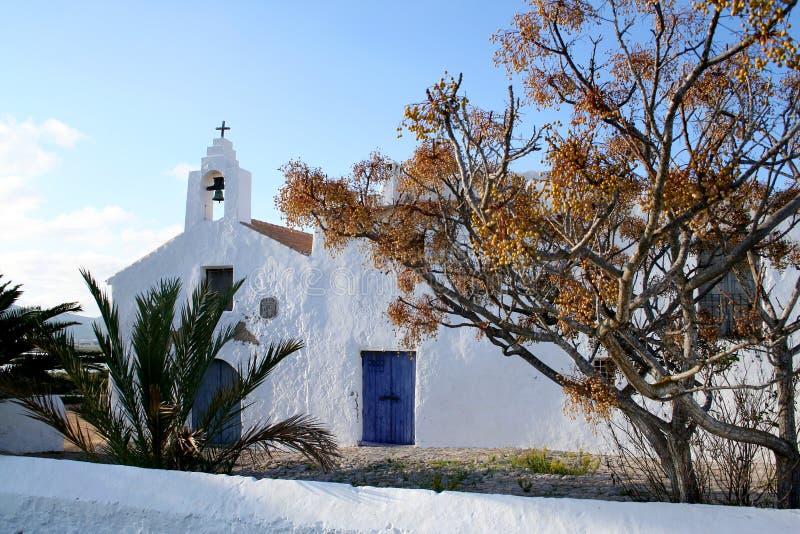 Oude Spaanse kerk. royalty-vrije stock foto