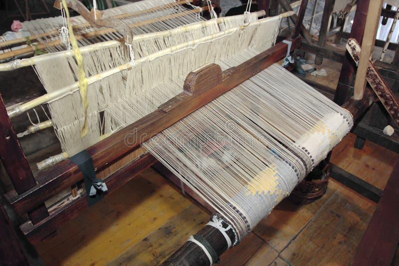 Oude spinmachine stock fotografie