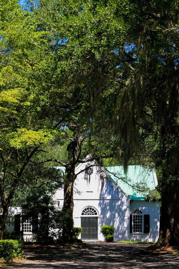 Oude St Andrew Parochiekerk, Charleston, Sc stock afbeelding