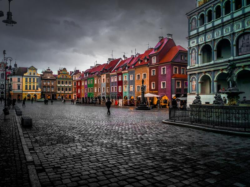 Oude Stad stock foto