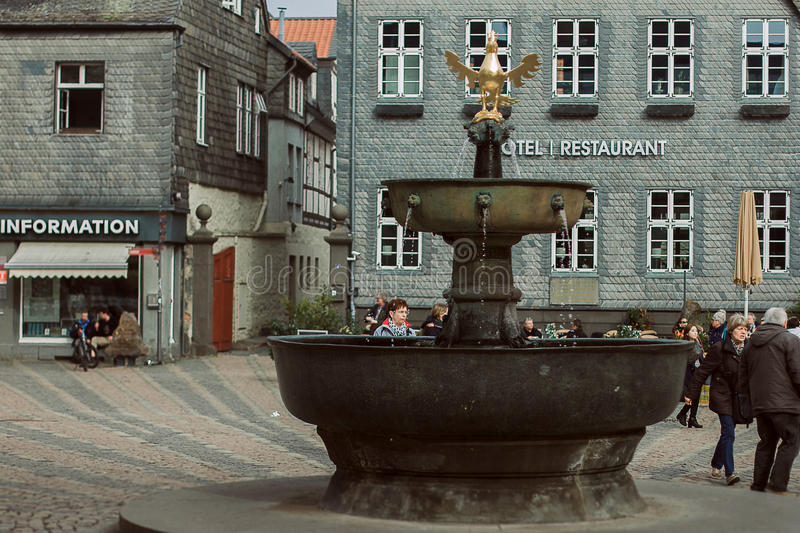 Oude Stad royalty-vrije stock afbeelding