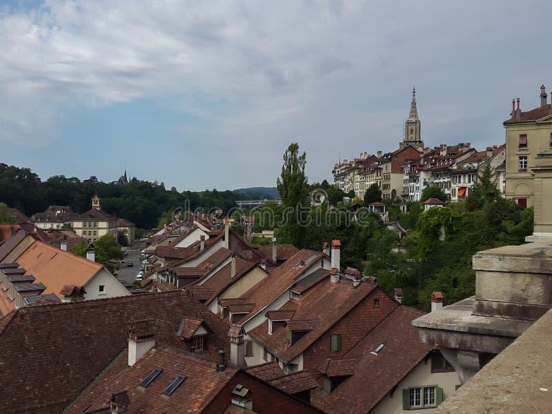 Oude stad - Bern in Zwitserland stock fotografie