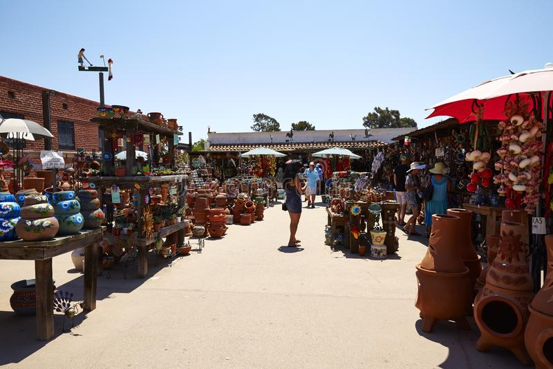 Oude Stad China en vakmanschapopslag, San Diego royalty-vrije stock fotografie