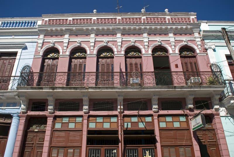Oude stad, Cienfuegos, Cuba royalty-vrije stock afbeelding