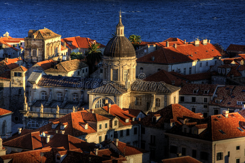 Oude Stad Dubrovnik royalty-vrije stock foto