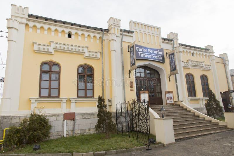 Oude stad gebouw-Ploiesti royalty-vrije stock foto