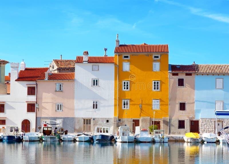 Oude stad Istrian stock fotografie
