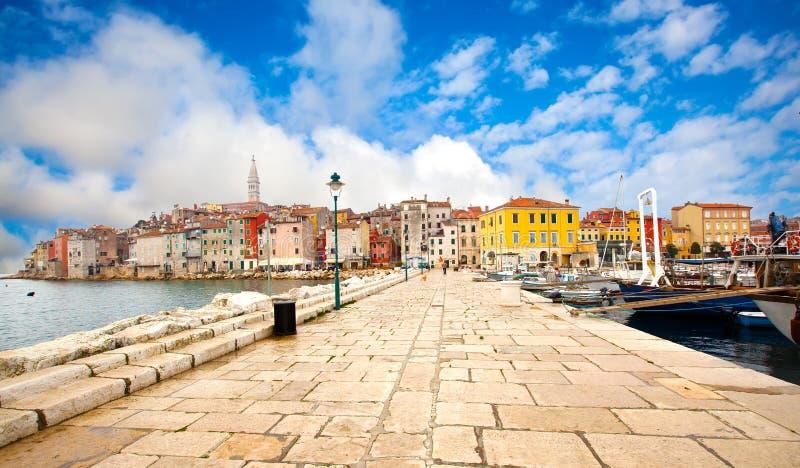 Oude stad Istrian stock afbeelding