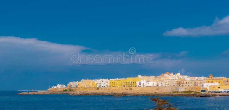 Oude stad in Italië Puglia stock fotografie