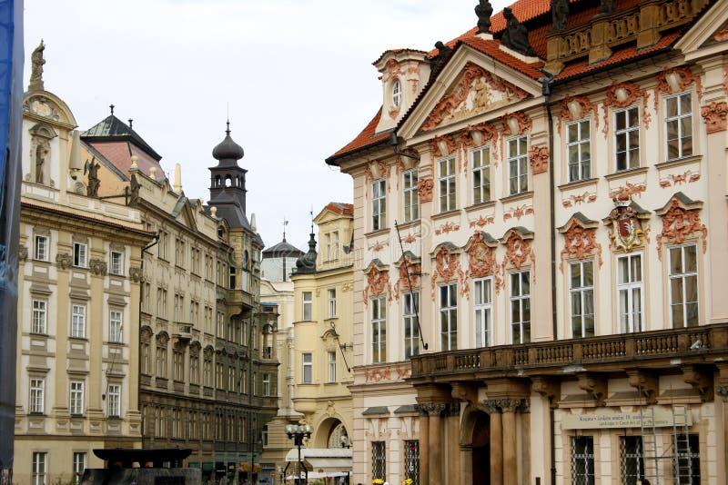 Oude Stad in Praag royalty-vrije stock foto