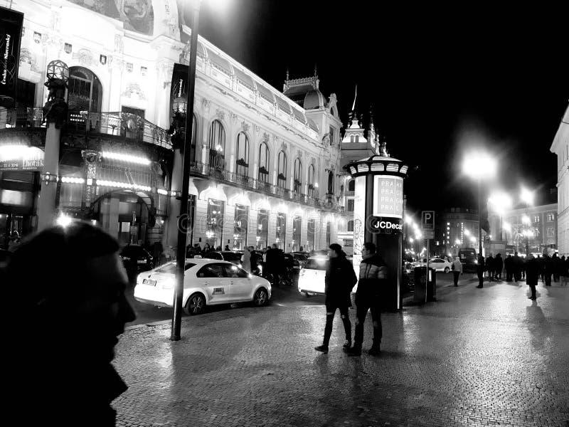 Oude Stad Praag, Tsjechische Republiek royalty-vrije stock foto's