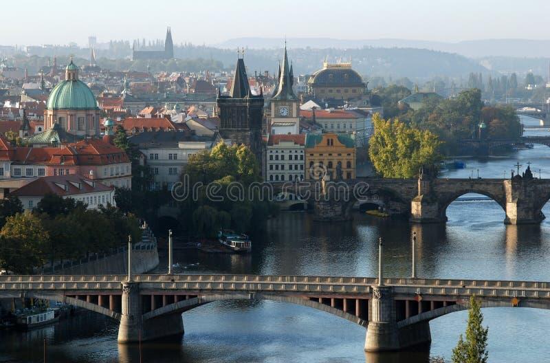 Oude Stad, Praag, Tsjechische republiek stock foto's