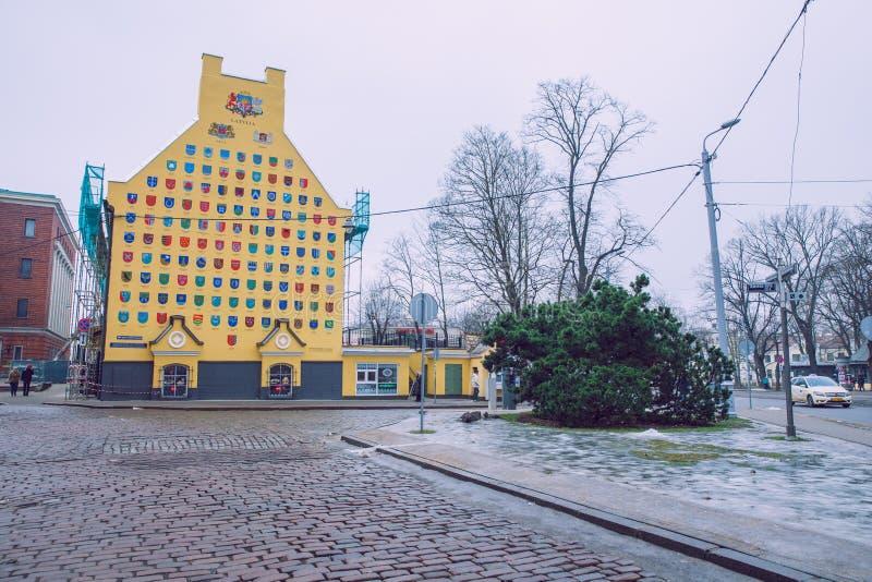 Oude stad, stadscentrum, volkeren en architectuur Straten en aard Reisfoto 2019 stock afbeeldingen
