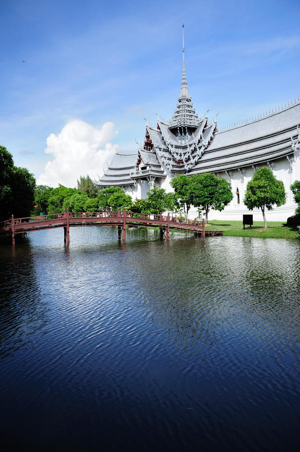 Oude Stad in Thailand royalty-vrije stock foto