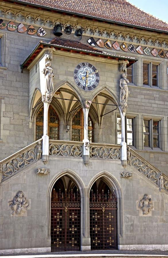 Oude stad van Bern 1 stock fotografie