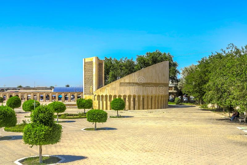 Oude Stad 36 van Boukhara royalty-vrije stock fotografie