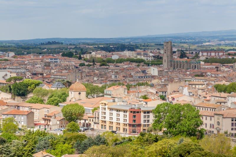 Oude stad van Carcassonne stock fotografie
