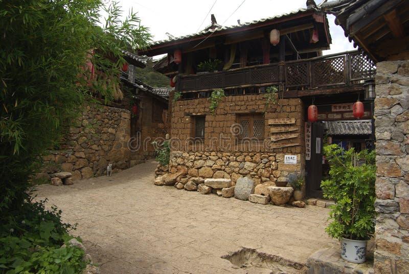 Oude Stad van China royalty-vrije stock afbeeldingen