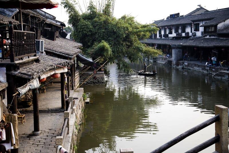 Oude stad van China stock afbeeldingen