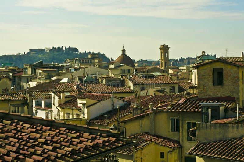 Oude stad van Florence2 royalty-vrije stock foto