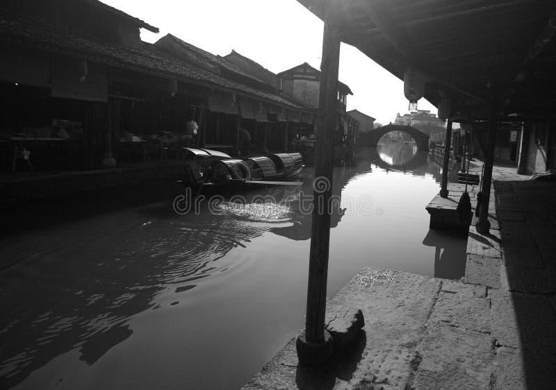 Oude stad van het zuiden van de Yangtze-Rivier stock fotografie