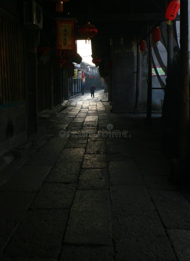 Oude stad van het zuiden van de Yangtze-Rivier royalty-vrije stock afbeeldingen