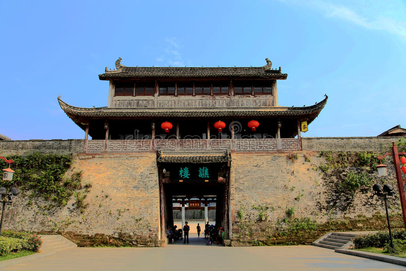 Oude stad van Huizhou, Anhui, China royalty-vrije stock fotografie