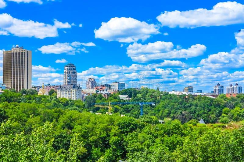 Oude Stad 12 van Kiev stock afbeelding