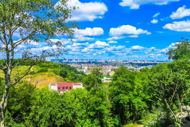 Oude Stad 11 van Kiev royalty-vrije stock afbeeldingen