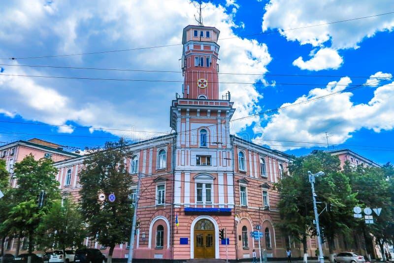 Oude Stad 15 van Kiev royalty-vrije stock foto
