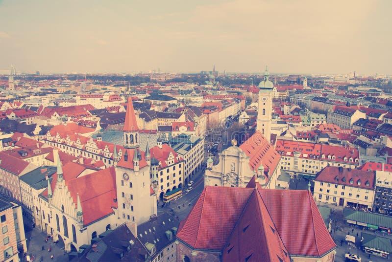 Oude stad van München stock foto