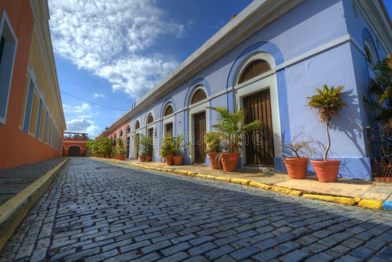 Oude Stad van San Juan stock foto