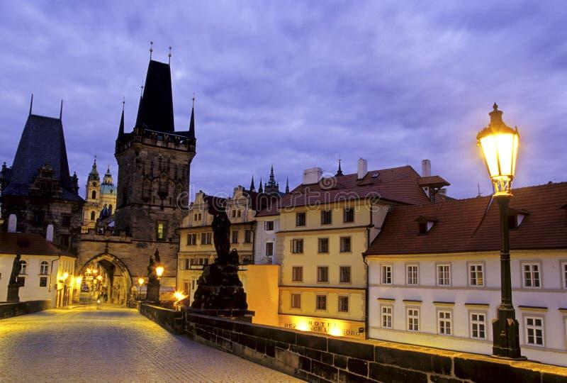 Oude Stad Vierkant Praag, Tsjechische Republiek stock fotografie