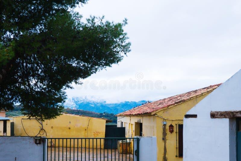 Oude stad, wit dorp Ronda, Andalusia, Spanje royalty-vrije stock afbeeldingen