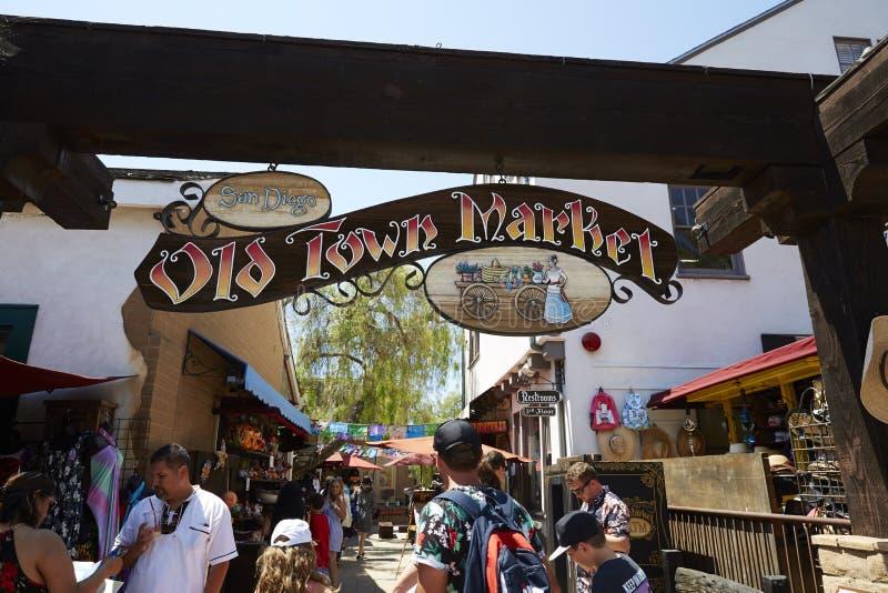 Oude Stadsmarkt, San Diego royalty-vrije stock afbeeldingen