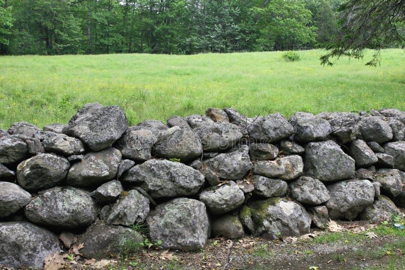 Oude steenomheining royalty-vrije stock fotografie