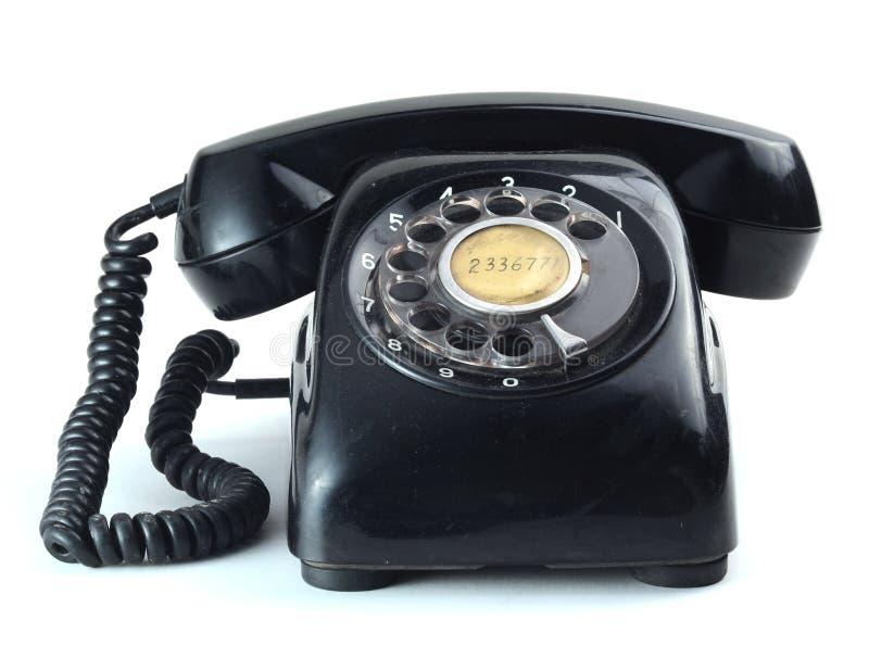 Oude stijltelefoon royalty-vrije stock foto's