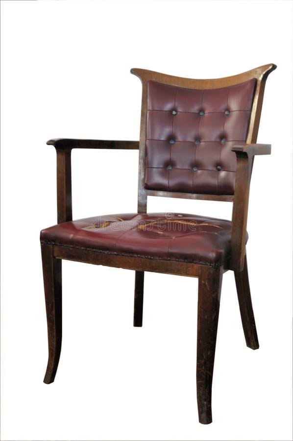 Oude stoel royalty-vrije stock afbeelding