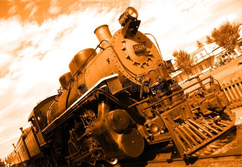 Oude stoommotor royalty-vrije stock fotografie