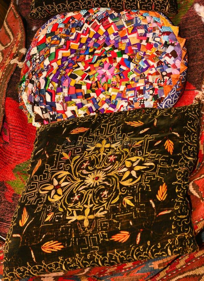Oude tapijten royalty-vrije stock fotografie