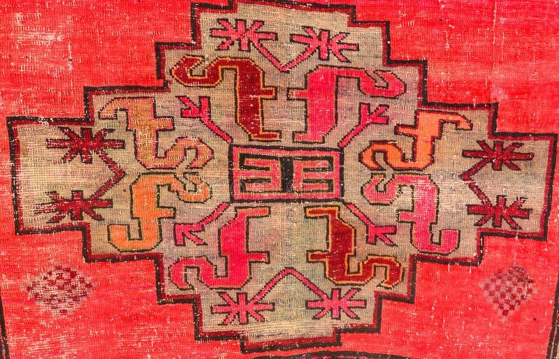 Oude tapijten stock afbeeldingen