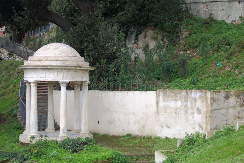 Oude tempel stock foto