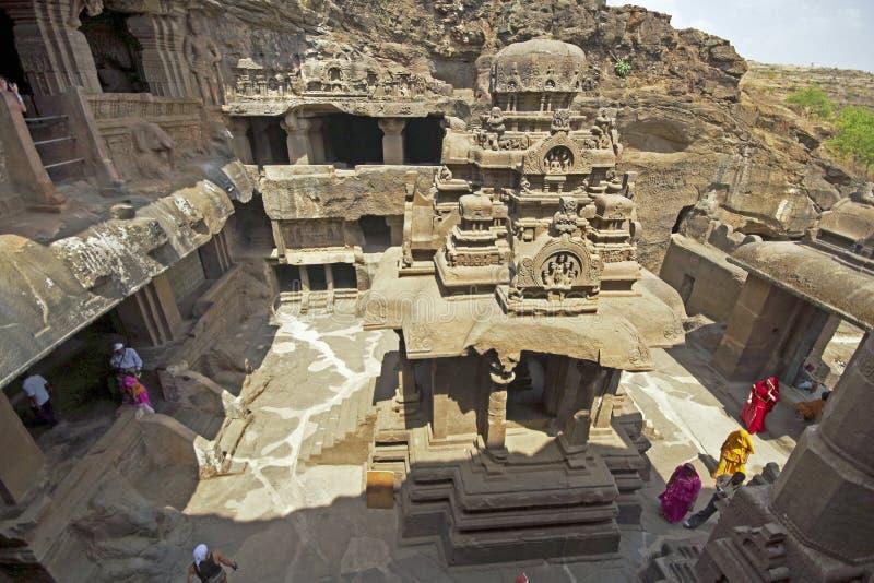 Oude Tempel Jain stock afbeeldingen