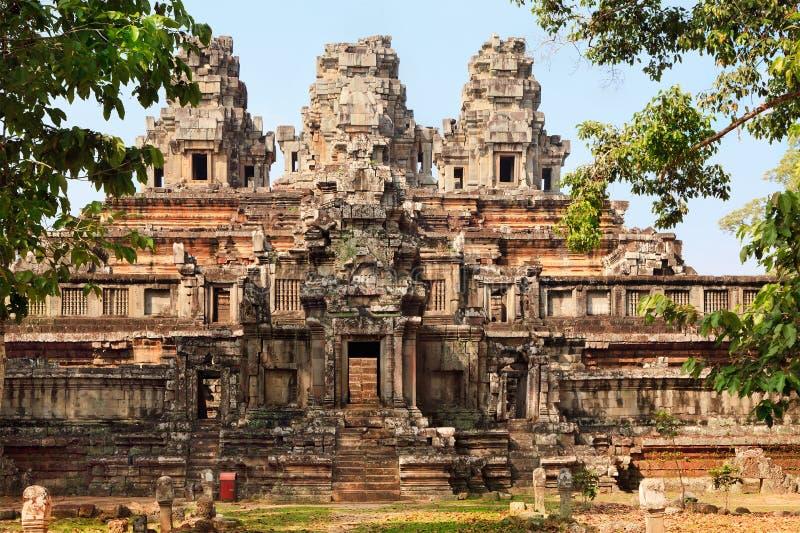 Oude tempel Ta Keo royalty-vrije stock foto's