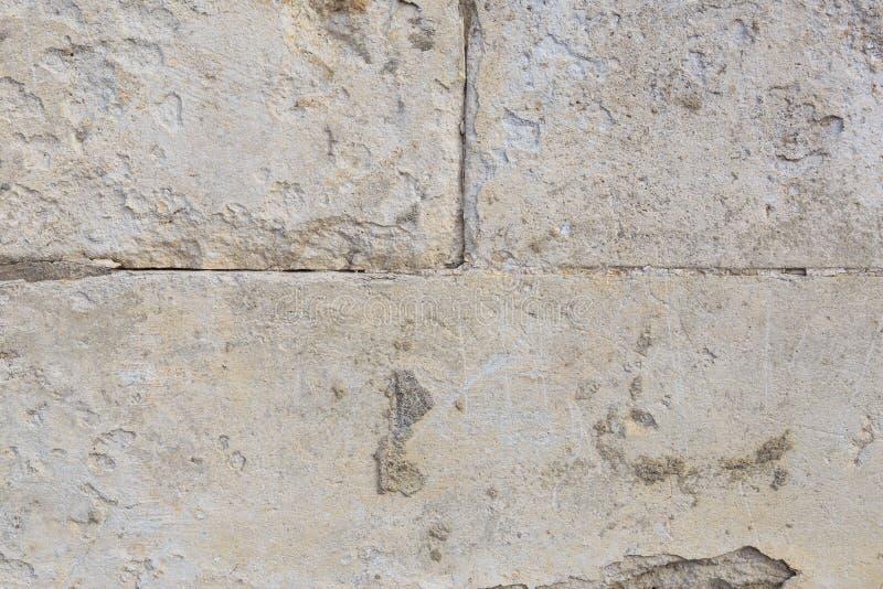 Oude textuur van zand en beton royalty-vrije stock afbeeldingen
