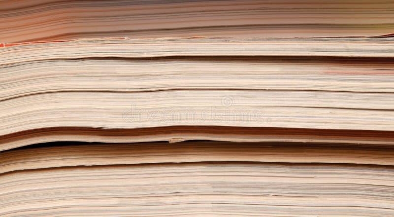 Download Oude tijdschriften stock foto. Afbeelding bestaande uit tijdschriften - 54080500