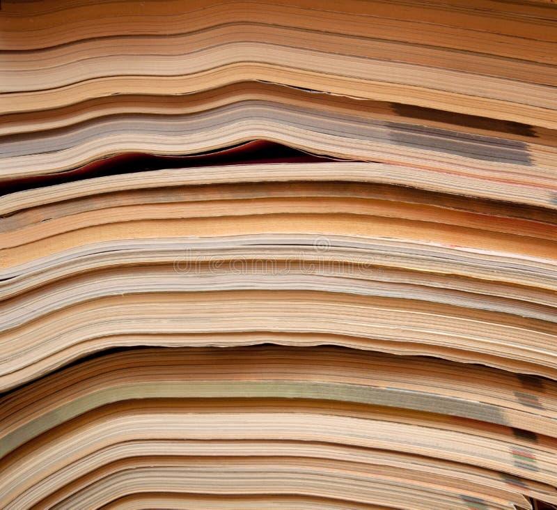 Download Oude tijdschriften stock afbeelding. Afbeelding bestaande uit informatie - 54080815